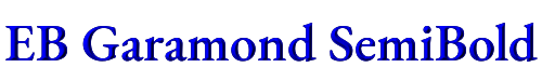 EB Garamond SemiBold