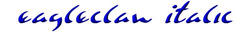 Eagleclaw Italic