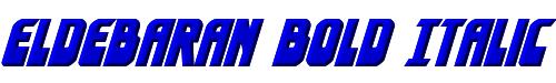 Eldebaran Bold Italic