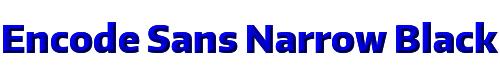Encode Sans Narrow Black