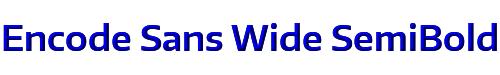 Encode Sans Wide SemiBold