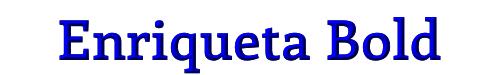 Enriqueta Bold