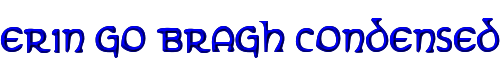 Erin Go Bragh Condensed