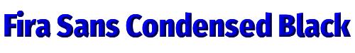 Fira Sans Condensed Black