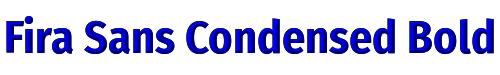 Fira Sans Condensed Bold