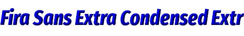 Fira Sans Extra Condensed ExtraBold Italic