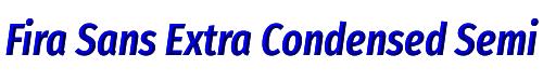 Fira Sans Extra Condensed SemiBold Italic