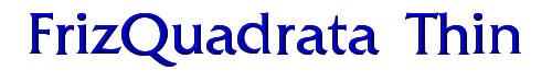 FrizQuadrata Thin
