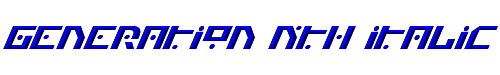 Generation Nth Italic