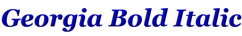Georgia Bold Italic