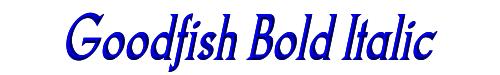 Goodfish Bold Italic