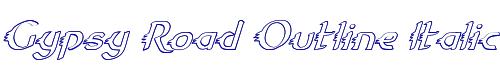 Gypsy Road Outline Italic