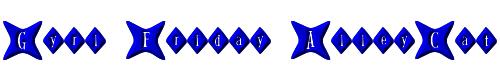 Gyrl Friday AlleyCat
