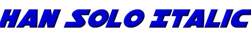 Han Solo Italic