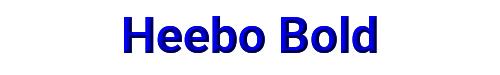 Heebo Bold