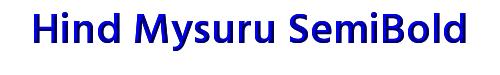 Hind Mysuru SemiBold