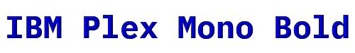 IBM Plex Mono Bold
