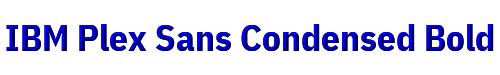 IBM Plex Sans Condensed Bold