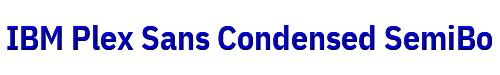 IBM Plex Sans Condensed SemiBold