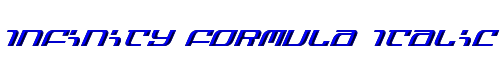 Infinity Formula Italic