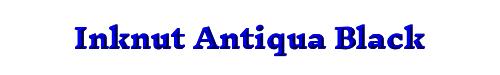 Inknut Antiqua Black