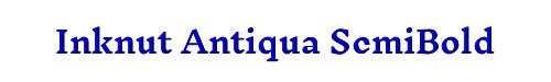 Inknut Antiqua SemiBold
