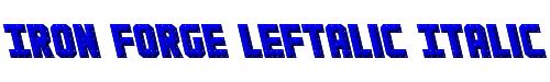 Iron Forge Leftalic Italic