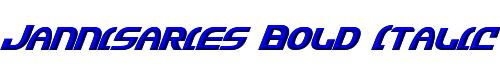 Jannisaries Bold Italic