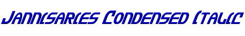 Jannisaries Condensed Italic