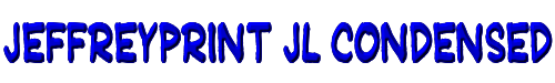 JeffreyPrint JL Condensed