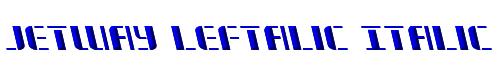 Jetway Leftalic Italic