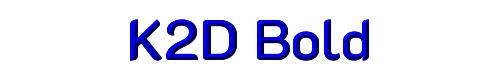 K2D Bold