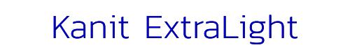 Kanit ExtraLight