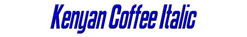 Kenyan Coffee Italic