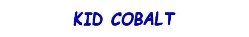 Kid Cobalt