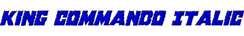 King Commando Italic