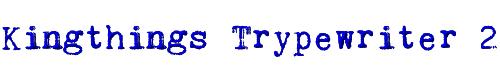 Kingthings Trypewriter 2
