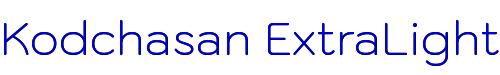 Kodchasan ExtraLight