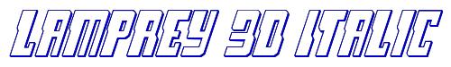 Lamprey 3D Italic