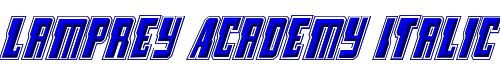Lamprey Academy Italic