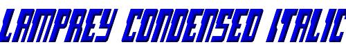 Lamprey Condensed Italic