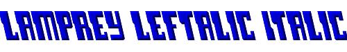 Lamprey Leftalic Italic