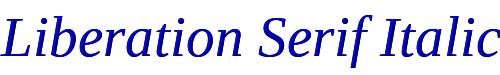 Liberation Serif Italic
