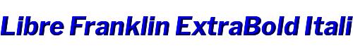 Libre Franklin ExtraBold Italic