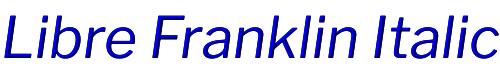Libre Franklin Italic