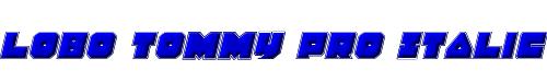 Lobo Tommy Pro Italic