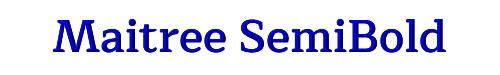 Maitree SemiBold