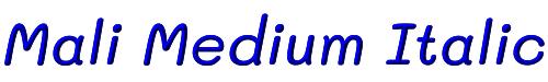 Mali Medium Italic