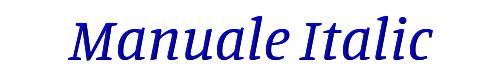 Manuale Italic