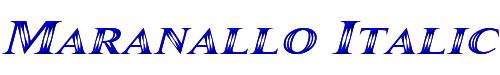 Maranallo Italic